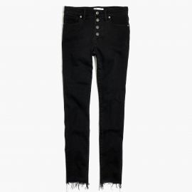 skinny jeans in berkeley black at Madewell