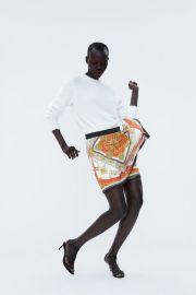 skort with chain print at Zara
