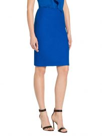 st john Clair Knit Pencil Skirt at Orchard Mile