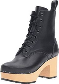 swedish hasbeens Women s Lace up Plateau Boot at Amazon