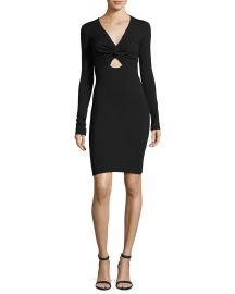 t by alexander wang twist dress at Neiman Marcus