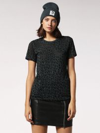 t-sily-d leopard tee at Diesel