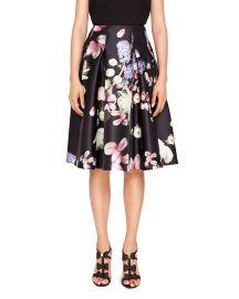 ted baker Angi Kensington Floral Full Skirt at Bloomingdales