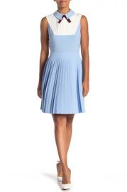 ted baker PLEATED FIT & FLARE DRESS at Nordstrom Rack