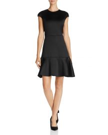 theory Essential Flare Dress at Bloomingdales