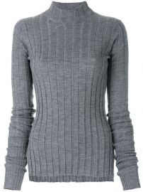 theory ribbed jumper at Farfetch