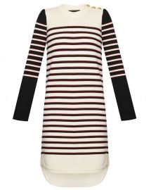 trey sweater dress at Veronica Beard