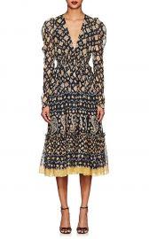 ulla johnson KAROLINA SILK-BLEND FIL COUPE DRESS at Barneys