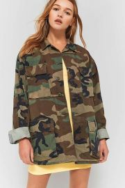 urban outfitters Urban Renewal Vintage Originals Camo Jacket at Urban Outfitters