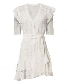 veronica beard sima dress at Intermix