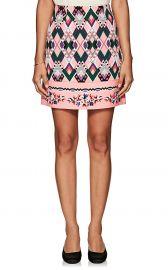 vivetta Sharja Crepe Miniskirt at Barneys