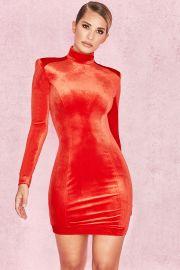 ysabeau velvet dress at House of CB