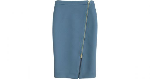 zip pencil skirt at J.Crew